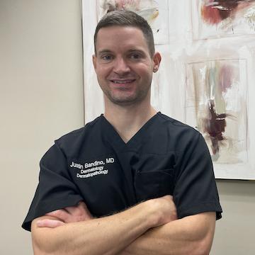 Photo Of Justin Bandino, MD at the Dermatology and Laser Center of San Antonio